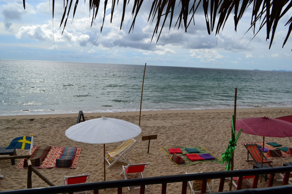 View from the office whilst working on the go from Koh Lanta, Thailand.