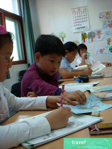 teaching in Seoul