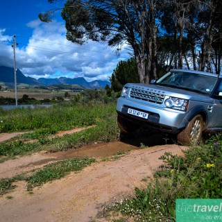 Road trip land rover