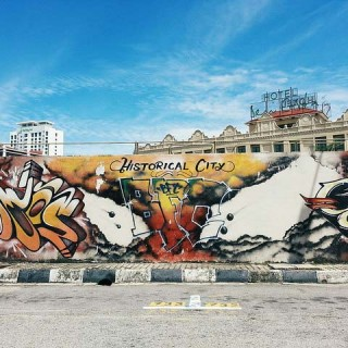 Malacca: Art and the Streets.