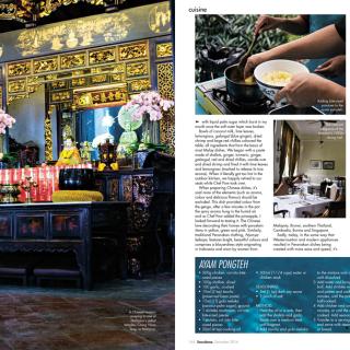 A Peranakan Culinary Journey in Malacca.