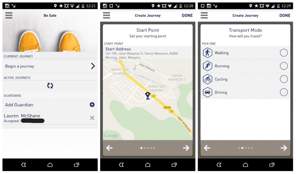 Santam Be Safe App