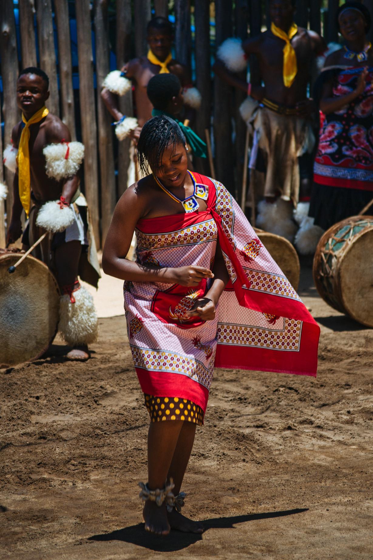 Swaziland Matenga Cultural Village