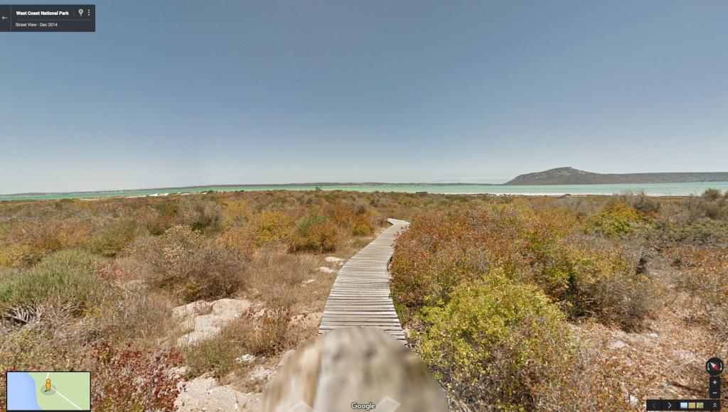 West coast natl park boardwalk