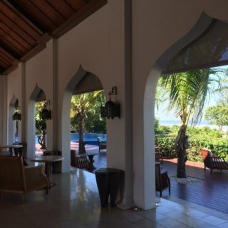 Through the doors and arches of Zanzibar.