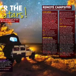 Top 10 South African Campsites.