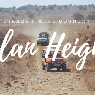 The Golan Heights: Wine, lunch and a party in a volcanic crater – Israel