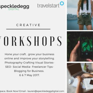 We're hosting our first Creative Workshop.