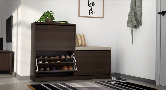 Smart shoe rack designs for small homes