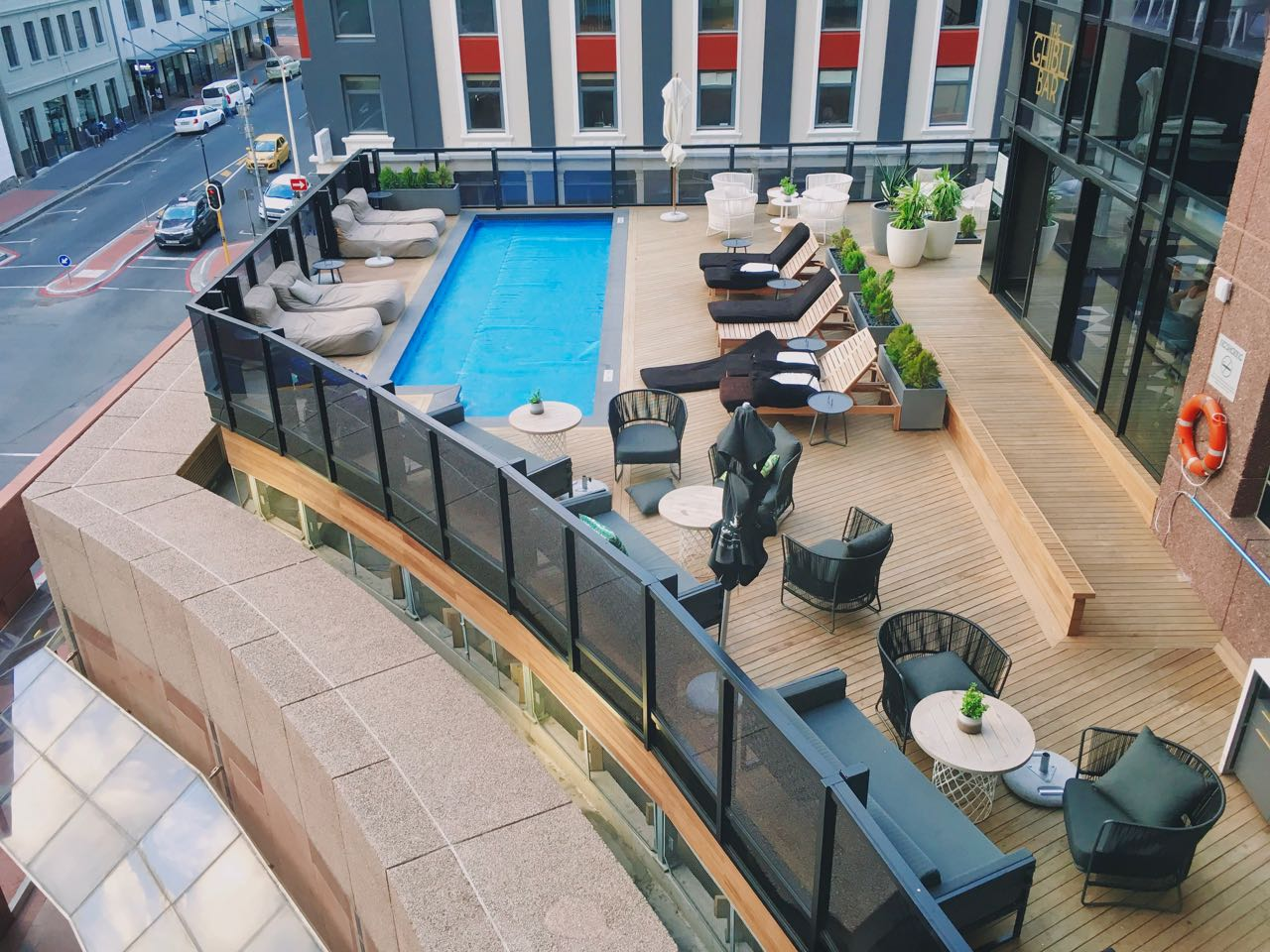 The Pool Deck, Radisson Blu Hotel and Residence
