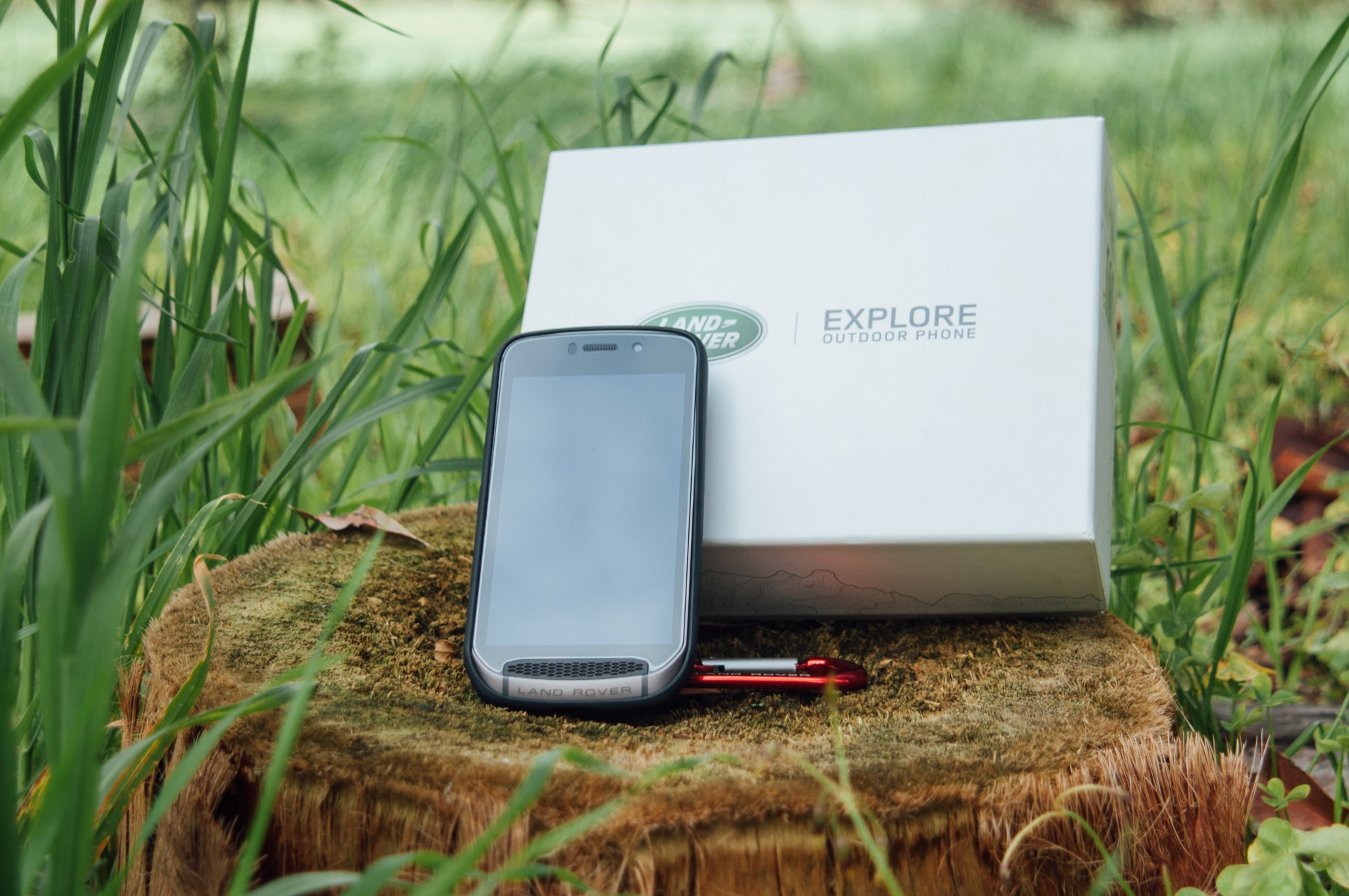 Win the new Land Rover Explore Outdoor Phone!