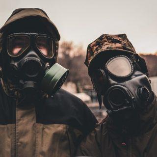 gas mask chernobyl